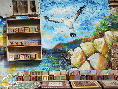 Morocco Mural
