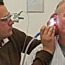 Ear wax removal, micro suction, ear irrigation