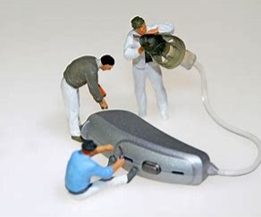 How can I care for my hearing aid?