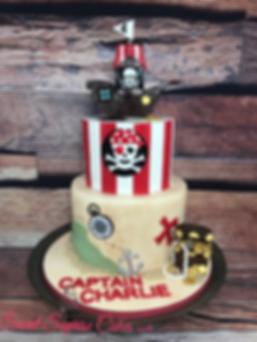 Pirate Charlie Cake