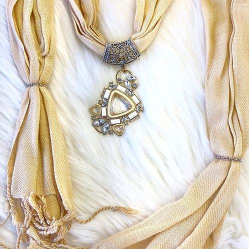 Eyanatia Lightweight Pashmina Jewelry Scarf