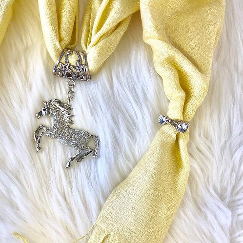 Eyanatia Lightweight Pony Pashmina Jewelry Scarf