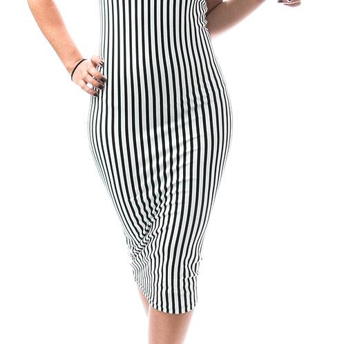 Eyanatia Lucky Me Stripe Dress