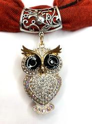 gold crystal owl