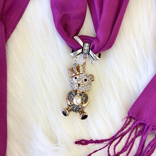 Eyanatia Lightweight Teddy Pashmina Jewelry Scarf