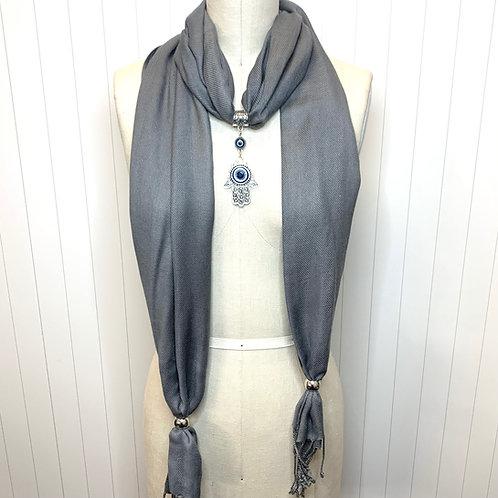 { Neutrals } Eyanatia Pashmina Jewelry Scarves