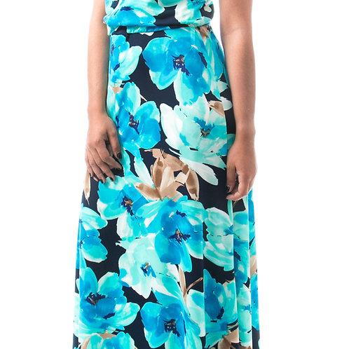 Eyanatia Chic Reversible Maxi Dress