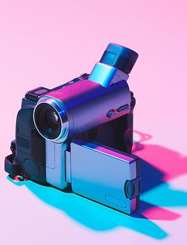 Caméra pour captation, tournage vidéo. brand content