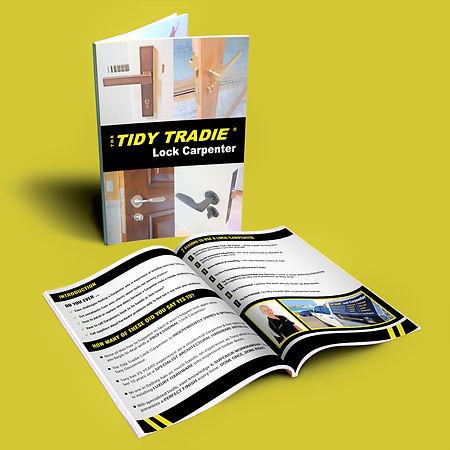 The Tidy Tradie Lock Carpenter eBook