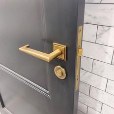 Joseph Giles Antique Brass Door Hardware, Sydney.