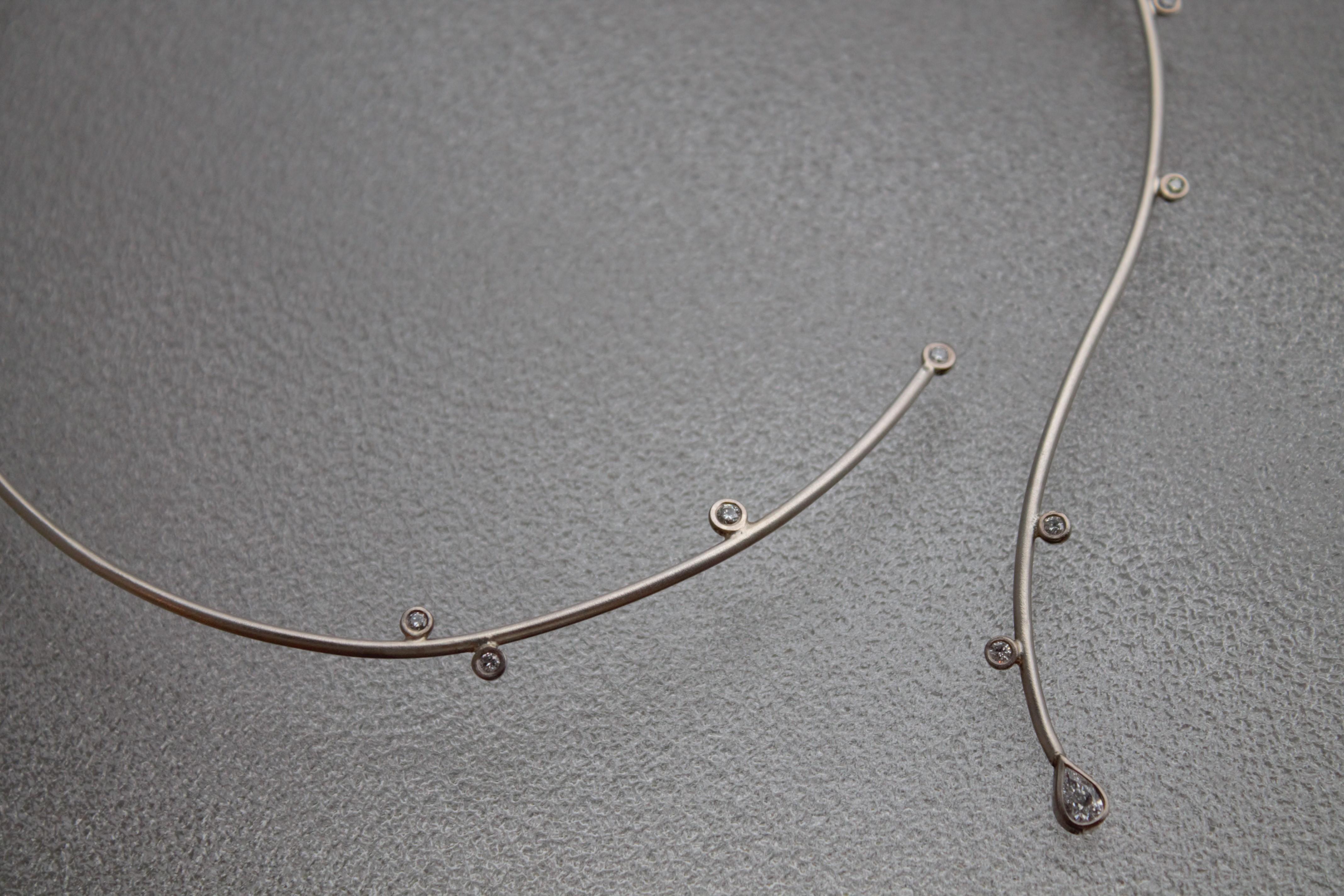 Detalj; diamanthalsband