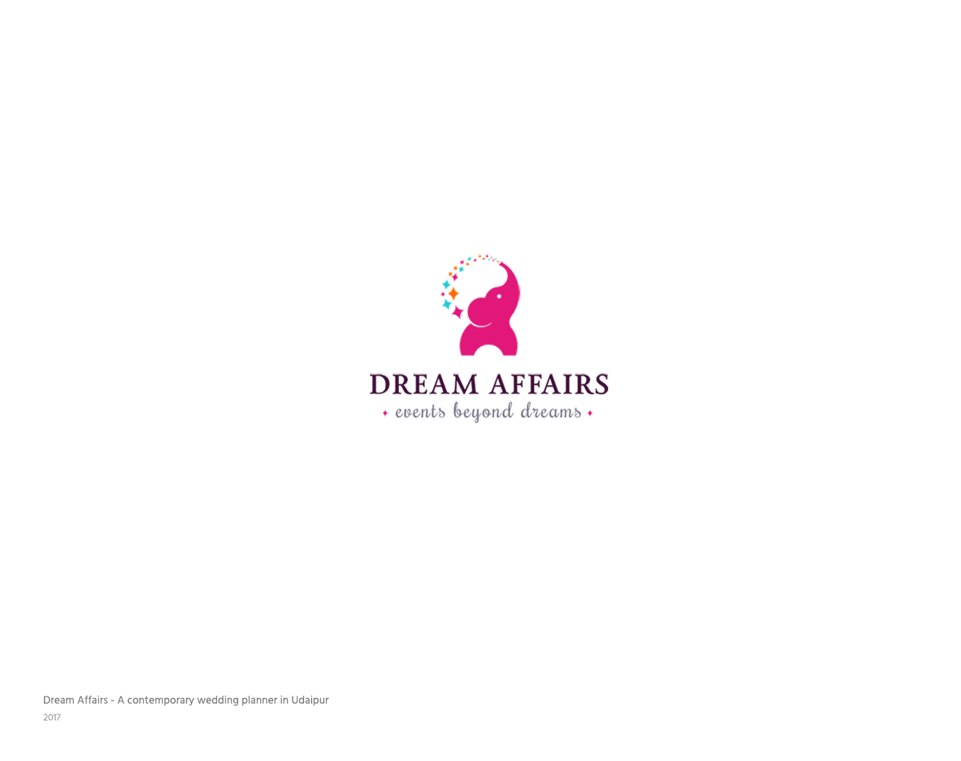 Dream Affairs Events Branding