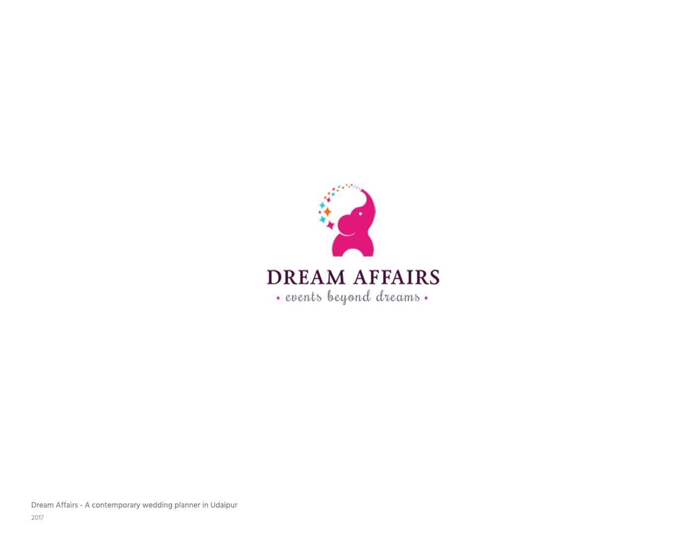 Dream Affairs Events Branding
