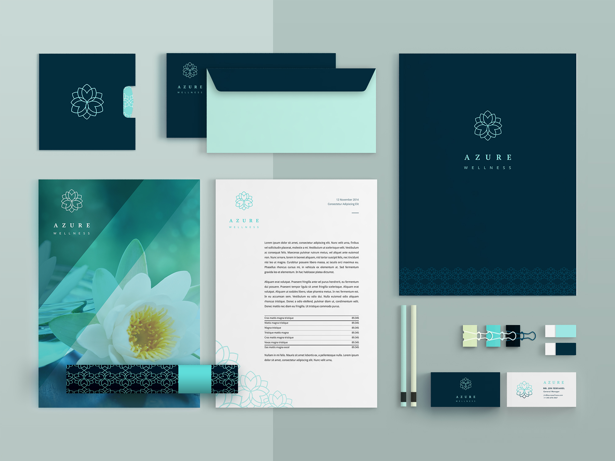 Azure Brand Identity