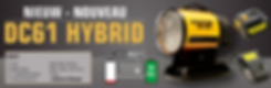 DC61 Hybrid - master - infrarood verwarming