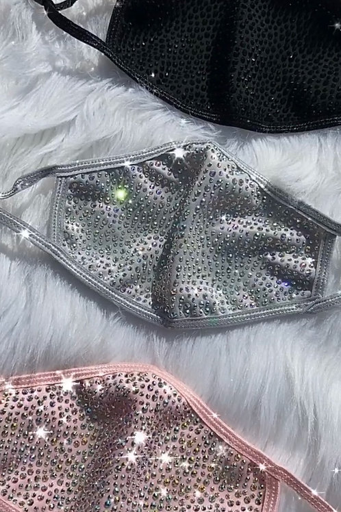 Blinged out Masks