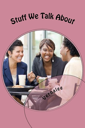"""""""Stuff We Talk About"""" is a compilation of various topics that covers the conversational spectrum about men, relationships, children, family, beauty, fashion, career, spirituality, other folks, and so much more.    Formatted in an article expose, this book is loaded with commonalities of everyday experiences that most women share regardless of socio – economic or racial backgrounds.    Although primarily targeted for a female audience, men and children alike would enjoy the read."""