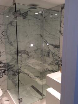 Bespoke glass shower London