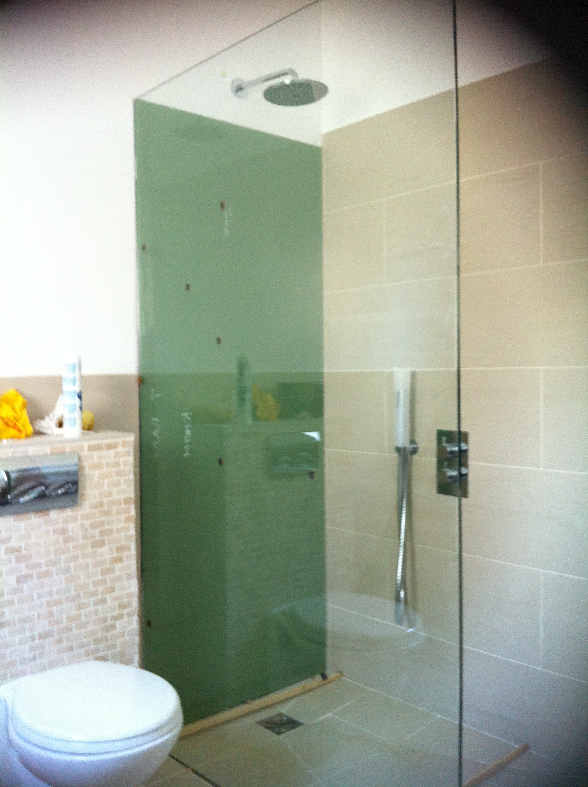 Bespoke shower srceen london