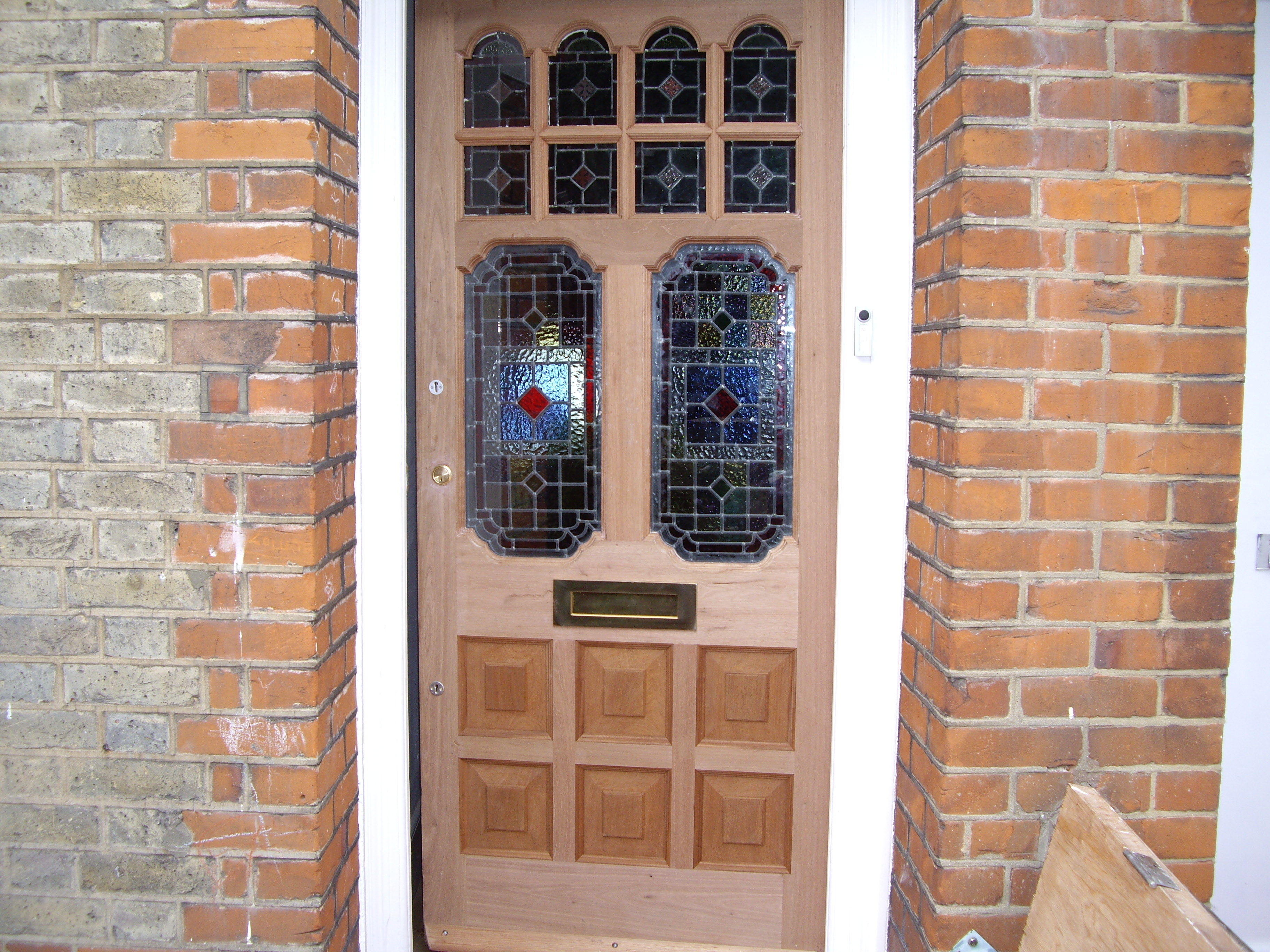 Bespoke front door London