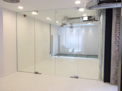 Office partition Central London