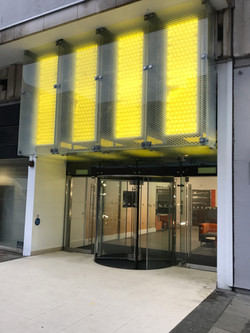 Large glass contract London