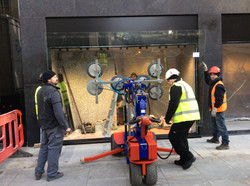 London glass fitting