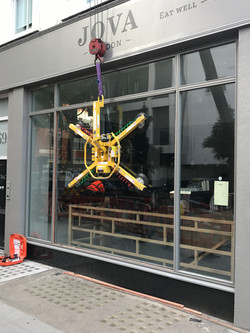 London Glass shopfront