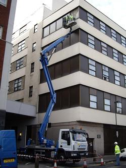 High level glazing London