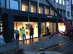 Large glass contracts London