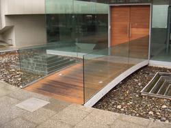 Heavyduty glass balustrades London