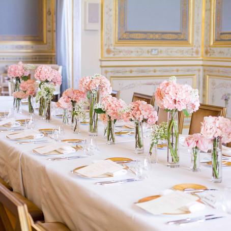 Wedding in Paris at the Shangri-la hotel