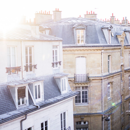 Rooftop sun