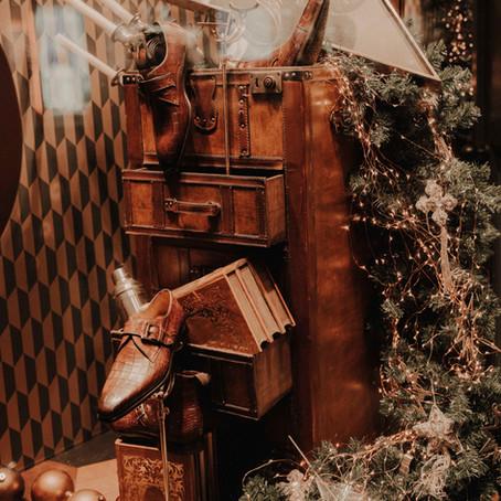 Christmas window shopping in Den Bosch