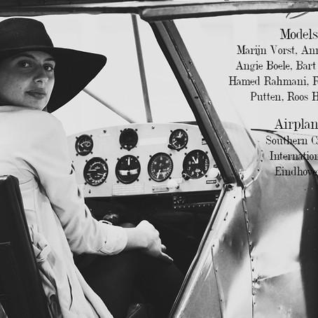 Vintage airplane shoot