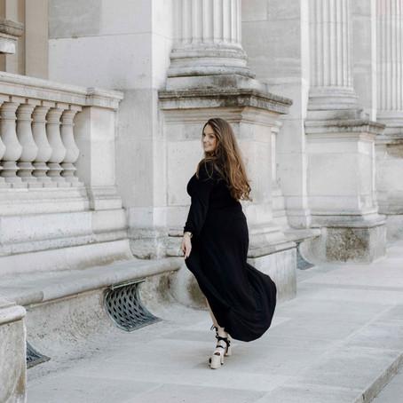 La Robe Noir in Saint Germain & Louvre