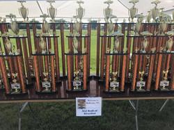 River Fest Car Show Trophies