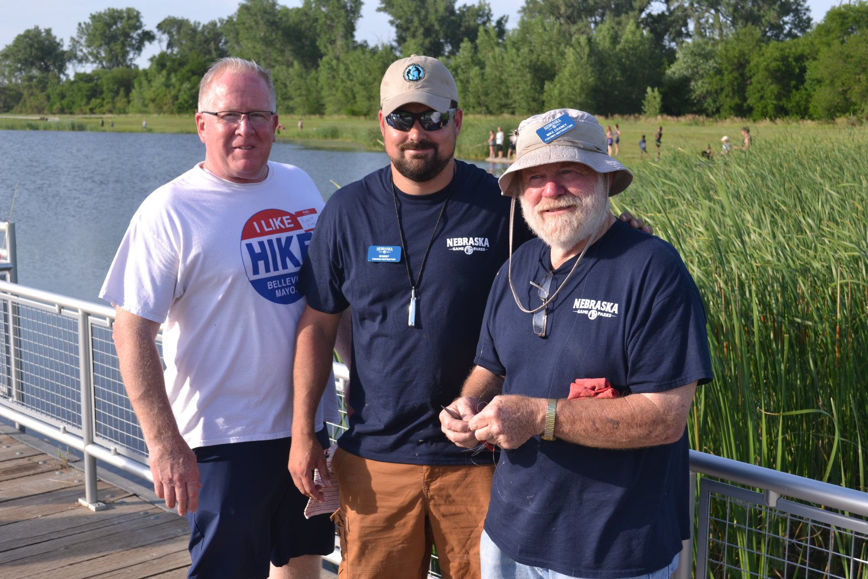 Mayor Hike and Fishing Instructors