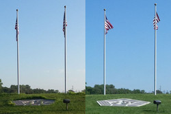 9-11 Memorial - Before and After