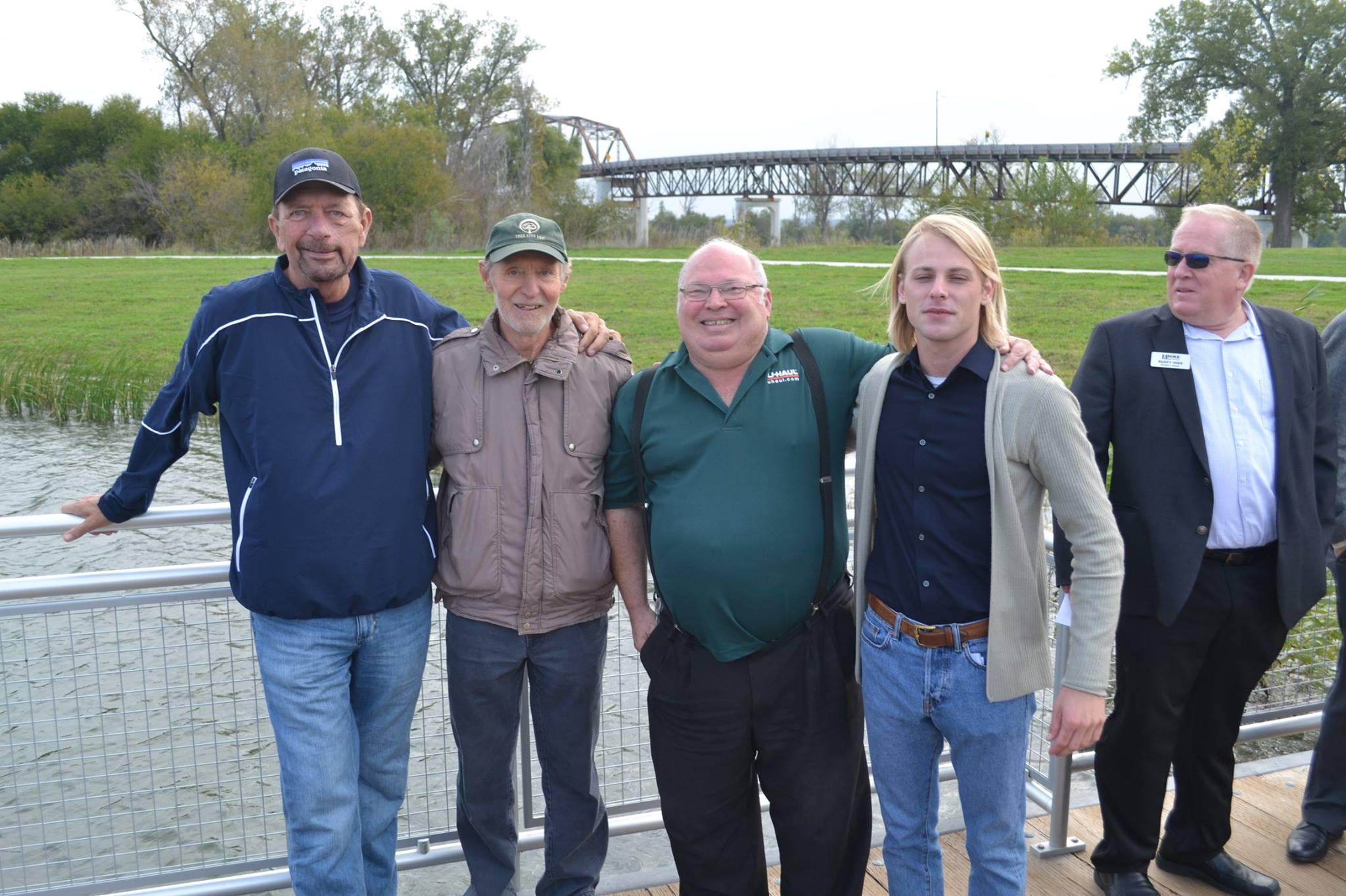Four Councilmen