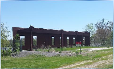 Kramer Power Plant Remnants