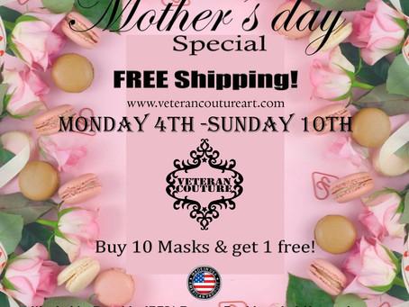 Free shipping May 4-10