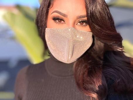 New Shimmery masks