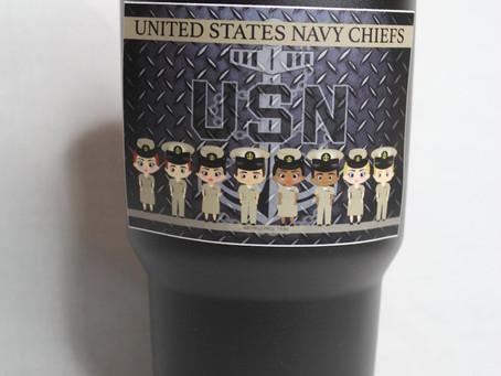 Navy Chief Stickers