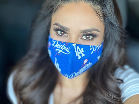 Dodgers Masks now available!