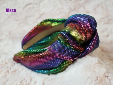 Disco Knot Headband