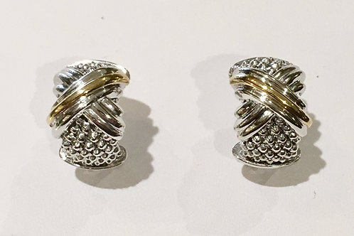 Phillip Gavriel, earrings, 18K, gold, french clip