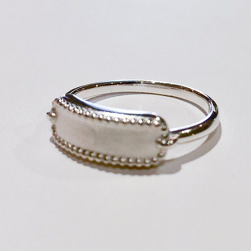 Sterling Silver, Signet, Ring, Engravable, Engrave, 3 initials, Lowest Price