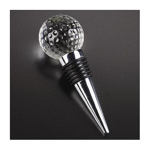 Badash Crystal Golf Ball Wine Stopper