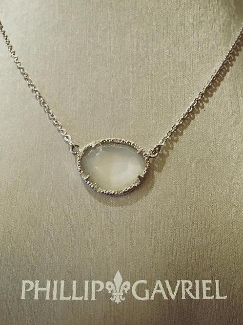 Phillip Gavriel, necklace, mother of pearl, diamond